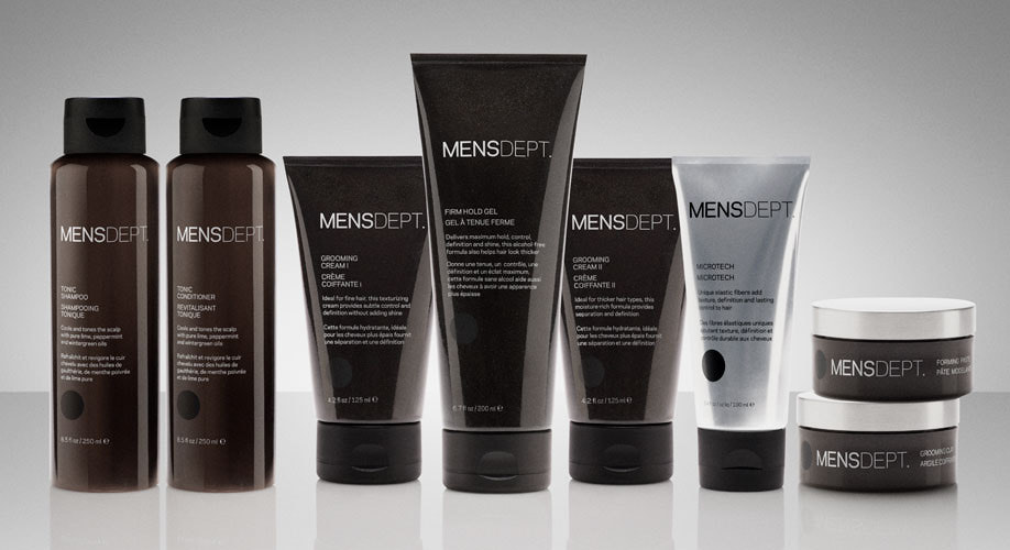 MENSDEPT grooming products
