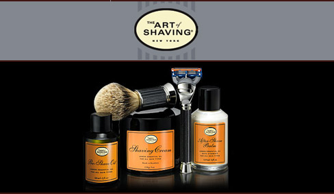 The Art of Shaving grooming products