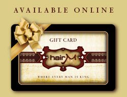 Hair M Gift Card – Give the gift of men's haircuts, grooming and other services
